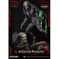 The Predator Statue 1/4 Assassin Predator Ultimate Version 93 cm