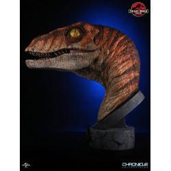 Jurassic Park 2Busto 1/1 Male Raptor 76 cm