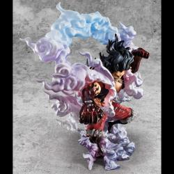 One Piece Excellent Model P.O.P PVC Statue 1/8 SA-Maximum Monkey D. Luffy Gear 4 Snake Man 26 cm
