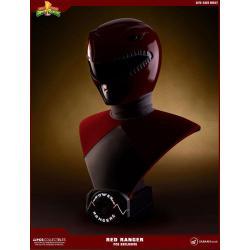 Power Rangers Bust 1/1 Red Ranger PCS Exclusive 63 cm