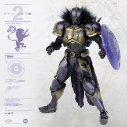 Destiny 2 Figura 1/6 Titan Golden Trace Shader 32 cm