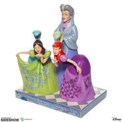 Disney Estatua Lady Tremaine, Anastasia & Drizella 21 cm La Cenicienta