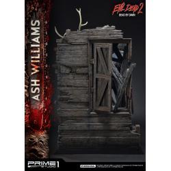 Terroríficamente muertos Estatua 1/3 Ash Williams 96 cm