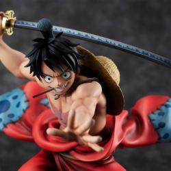 One Piece P.O.P PVC Statue Warriors Alliance Luffy Taro 17 cm