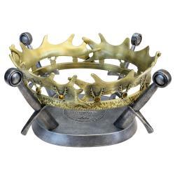 Juego de Tronos Réplica 1/1 Corona de Robert Baratheon Limited Edition 25 cm