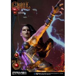 DC Comics Estatua Grail Concept Design by Jason Fabok Deluxe Ver. 72 cm