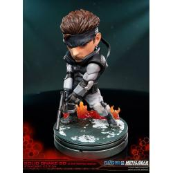Metal Gear Solid Estatua PVC SD Solid Snake 20 cm