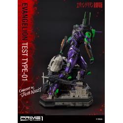 Neon Genesis Evangelion Estatua Test Type-01 Concept by Josh Nizzi 68 cm