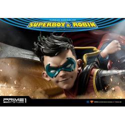 DC Comics Estatua 1/3 Superboy & Robin 64 cm