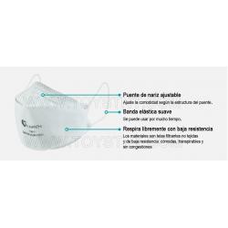 LAI AN ZHI Respiratory Mask KN95 (GB2626-2006) YX011 (25 Pieces)