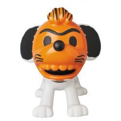 Peanuts VCD Vinyl Figura 50\'s Snoopy Orange Mask 16 cm