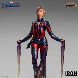 Vengadores: Endgame Estatua BDS Art Scale 1/10 Captain Marvel 26 cm
