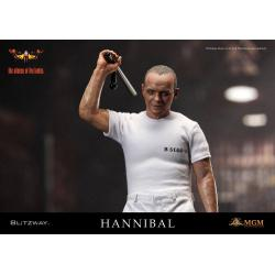 The Silence of the Lambs Action Figure 1/6 Hannibal Lecter White Prison Uniform Ver. 30 cm
