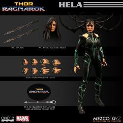 Thor Ragnarok Figura 1/12 Hela 15 cm