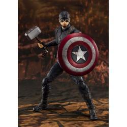 Vengadores: Endgame Figura S.H. Figuarts Captain America (Final Battle) 15 cm