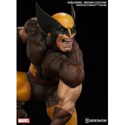 Wolverine Brown Costume Premium Format Statue