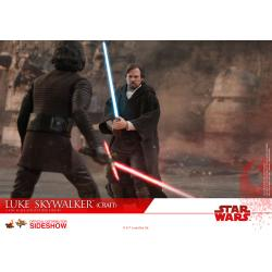 Luke Skywalker (Crait) Sixth Scale Figure by Hot Toys Star Wars Episode VIII - The Last Jedi - Movie Masterpiece Series