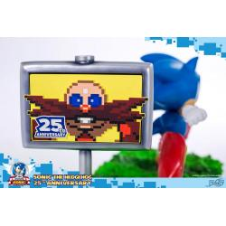 Sonic the Hedgehog Diorama 25th Anniversary Sonic 33 cm