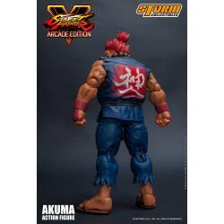 Street Fighter V Arcade Edition Figura 1/12 Akuma Nostalgia Costume 18 cm