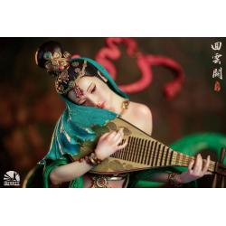 Infinity Studio Elegance Beauty Series Estatua Dancer of Cloud Palace 35 cm