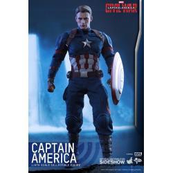 Captain America Civil War Figura Movie Masterpiece 1/6 Captain America 31 cm