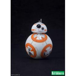 Star Wars: R2-D2 with C-3PO and BB-8 1:10 scale Snap Fit Figures