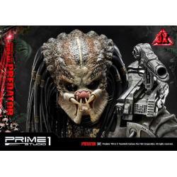 Predator Statue Big Game Cover Art Predator Deluxe Version 72 cm