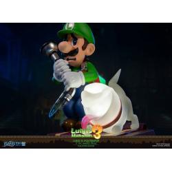 Luigi\'s Mansion 3 PVC Statue Luigi & Polterpup Collector\'s Edition 23 cm