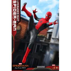 Spider-Man (Upgraded Suit) Sixth Scale Figure by Hot Toys Movie Masterpiece Series - Spider-Man: Far From Home