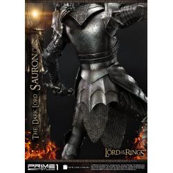 El Señor de los Anillos Estatua 1/4 The Dark Lord Sauron Exclusive Version 109 cm