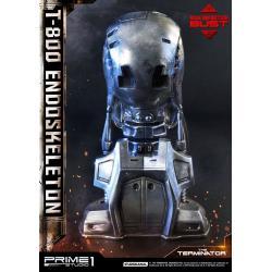 Terminator Busto High Definition 1/2 T-800 Endoskeleton Head 22 cm