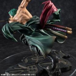 One Piece Estatua PVC Portrait Of Pirates SA-MAXIMUM Roronoa Zoro San Zen Se Kai !!! Ver. 21 cm