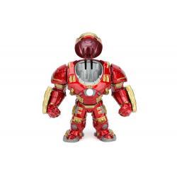 Vengadores La Era de Ultrón Figuras Metals Die Cast Hulkbuster & Iron Man 15 cm