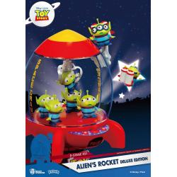 Toy Story D-Stage PVC Diorama Alien\'s Rocket Deluxe Edition 15 cm