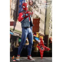 Spider-Man (Spider-Punk) Suit Sixth Scale Figure by Hot Toys Video Game Masterpiece Series
