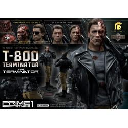 Terminator Statue 1/2 T-800 Deluxe Version 117 cm
