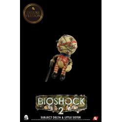 BioShock Pack de 2 Figuras 1/6 Subject Delta & Little Sister Deluxe Version 33 cm