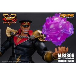 Street Fighter V Arcade Edition Action Figure 1/12 M. Bison Battle Costume 18 cm