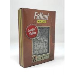 Fallout Réplica Perc Card Agility