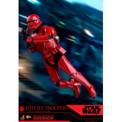 Sith Jet Trooper Sixth Scale Figure by Hot Toys The Rise of Skywalker - Movie Masterpiece Series