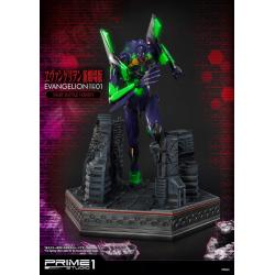 Neon Genesis Evangelion Statue Evangelion Test Type-01 Night Battle Version 77 cm