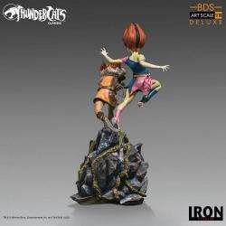 Thundercats BDS Art Scale Statue 1/10 WilyKit & WilyKat Deluxe 22 cm