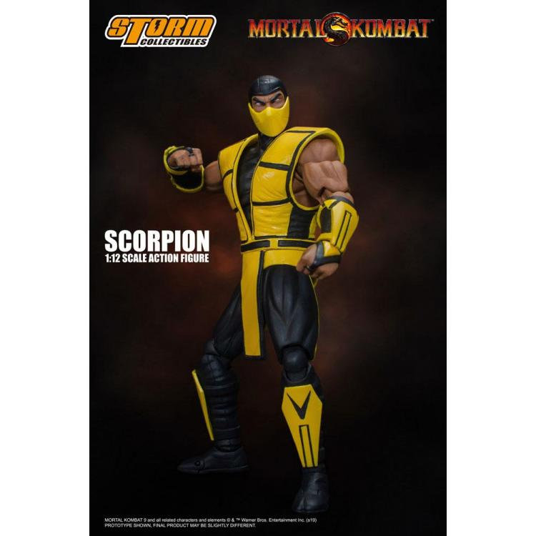 Mortal Kombat Action Figure 1/12 Scorpion 16 cm