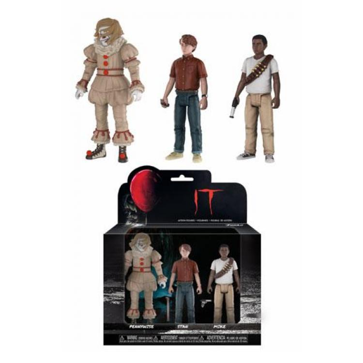Stephen King\'s It 2017 Action Figures 3-Pack Set #4 12 cm