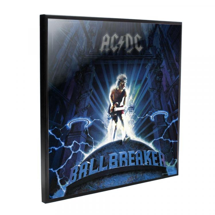 AC/DC Decoración Mural Crystal Clear Picture Ball Breaker 32 x 32 cm
