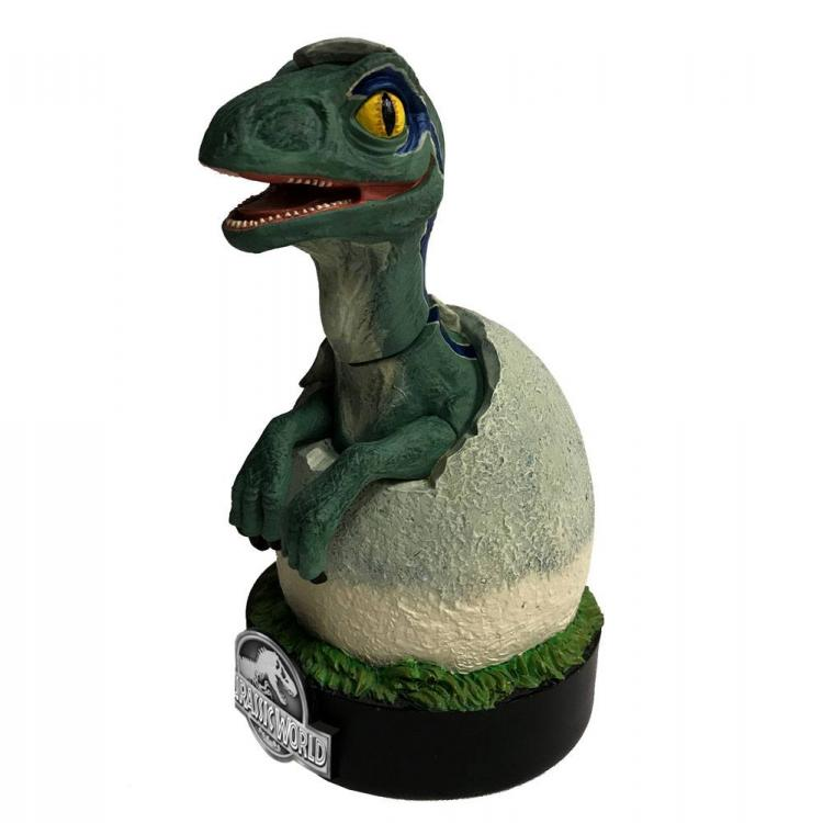 Jurassic World Estatua Premium Motion Blue Raptor Hatchling 19 cm