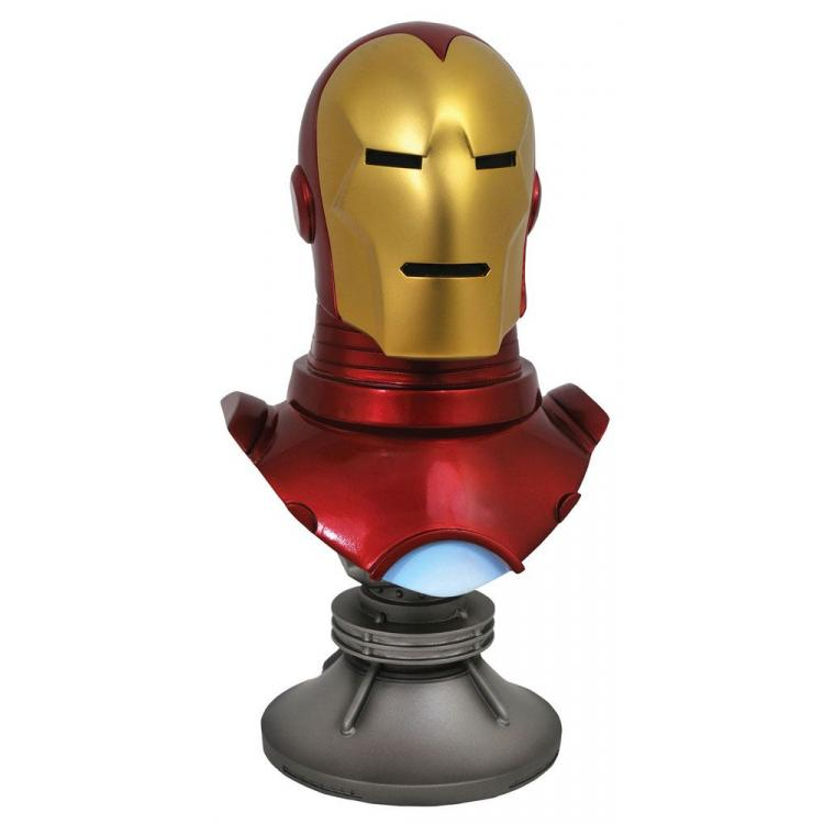 Marvel Comics Legends in 3D Busto 1/2 Iron Man 25 cm
