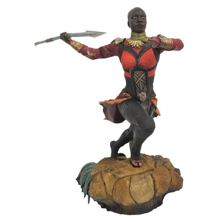 Black Panther Marvel Movie Gallery Estatua Okoye 23 cm