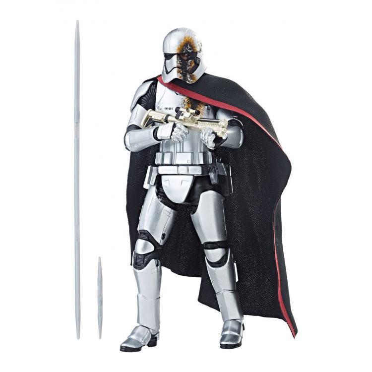Star Wars Episode VIII Black Series Figura 2019 Captain Phasma (Quicksilver Baton) 15 cm