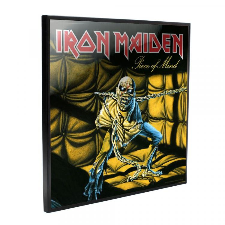 Iron Maiden Crystal Clear Picture Piece of Mind 32 x 32 cm